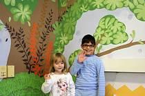 Dva dětské pokoje v kyjovské nemocnici jsou nově vymalované. Nadace Víly pro děti se postarala o to, aby pokoje vypadaly jako z pohádky.