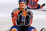 Ondřej Ševčík byl v uplynulé sezoně zlým mužem Drtičů.