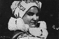 Od narození malířky Rozky Falešníkové uplyne 120 let. Repro: archiv obce Tasov