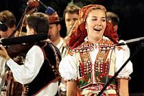 Horňácké slavnosti ve Velké nad Veličkou.