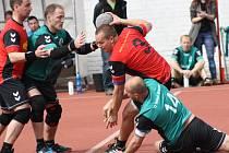 Nedělní souboj národních házenkářů Vracova s Veselím nad Moravou nabídl hlavně v prvním poločase zajímavou podívanou. Okresní rivalové si nic nedarovali.