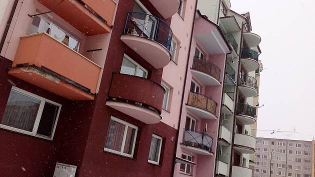 Bytový komplex Pastelky I v Hodoníně.