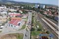 Boršovská ulice v Kyjově při tragické nehodě z roku 2019.