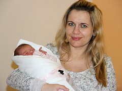 Adéla Běhávková ze Strážnice je prvním narozeným miminkem letošního roku v hodonínském okrese.