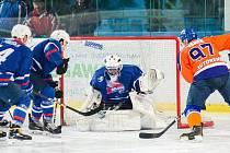 V devětadvacátém kole se střetli hodonínští hokejisté s Novým Jičínem. V utkání  padlo  málo branek. Drtiči díky dvěma zásahům Jakuba Vrány vyhráli 2:1.