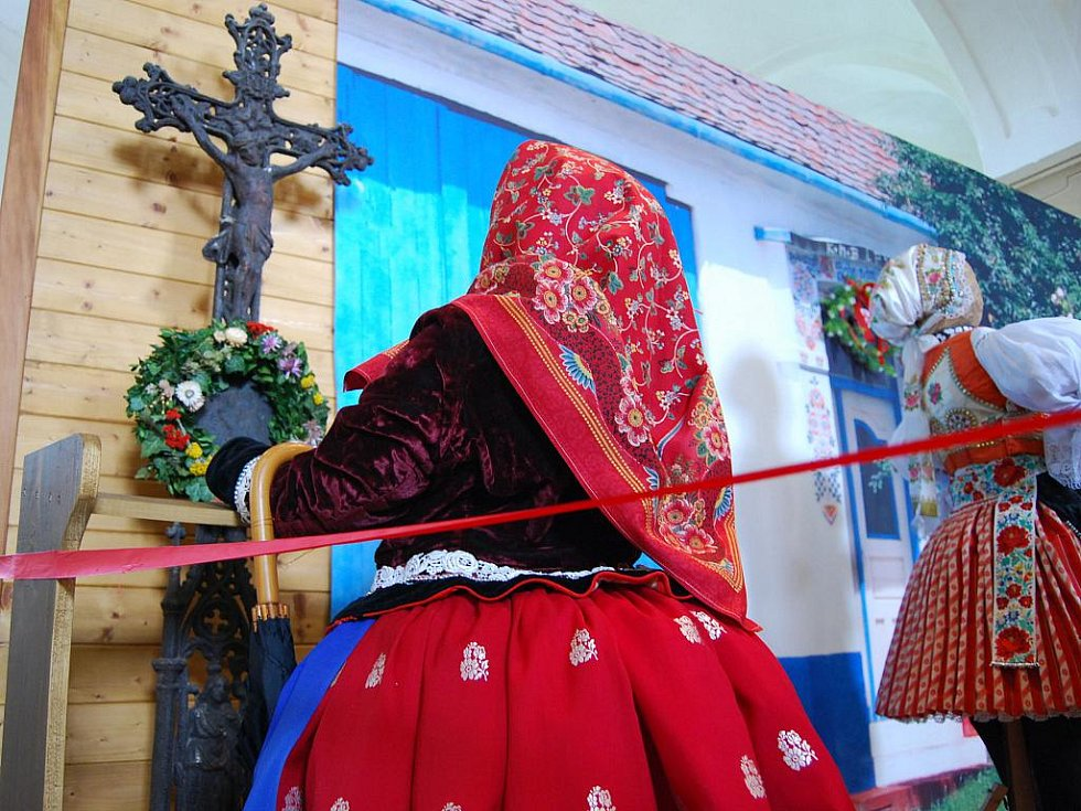 Nová expozice v bývalé konírně milotického zámku představuje velikonoční čas na Slovácku.