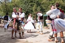 Strážnický soubor Danaj se zúčastnil letošního festivalu Banát, kde zazpíval a zatančil krajanům.