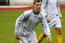 Mutěnický záložník Jaroslav Hromek se stejně jako zbytek týmu v Pelhřimově střelecky neprosadil.