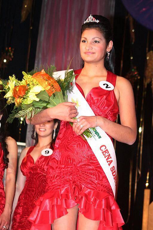 Miss Roma ČR 2010 - Miss Sdružení Romů a národnostních menšin Blanka Poláková