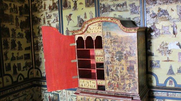 Milotický zámek otevřel, i slonovinou zdobený japonský kabinet. Podívejte se
