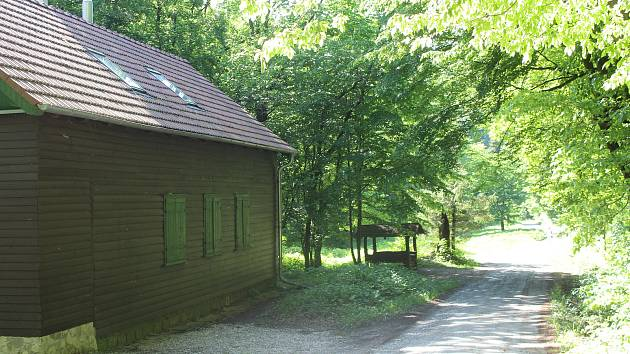Chata Kristýna u Filipova údolí.