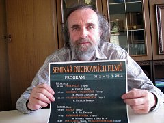 Organizátor filmových seminářů Marcel Řimák.