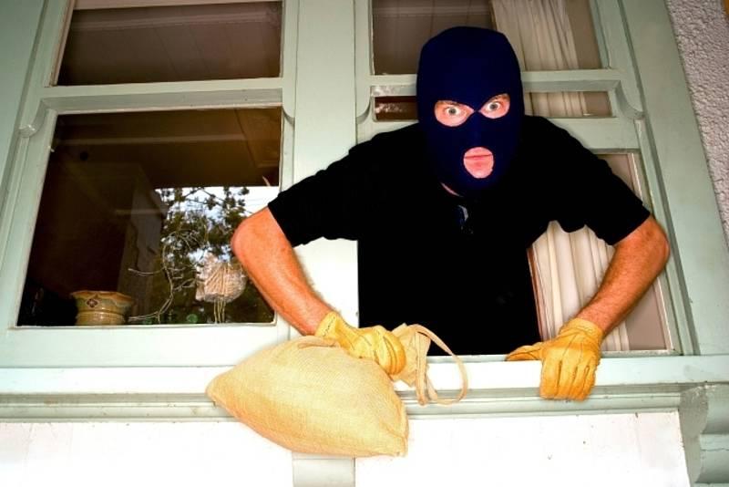 Vloupání, zloději. Ilustrační foto