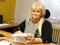 Odvolaná bývalá ředitelka Nemocnice Kyjov Danuše Křiváková.