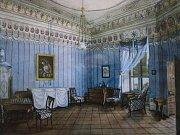 Po desítky let skrytá malba v pokoji milotického zámku vyplula na povrch. Od příštího roku ji spolu s renovovanými pokoji uvidí i návštěvníci zámku.
