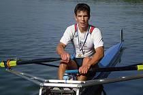 Hodonínský veslař Milan Viktora.
