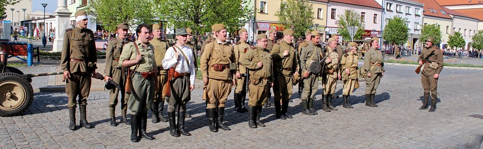 Bitva o radnici v Kyjově.