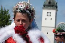 Králem byl letos Přemysl Kuchař ze Skoronic.
