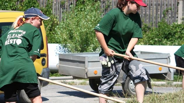Hodonín pečuje o čistotu ulic