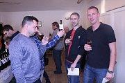 Výstava vín ve Skoronicích.