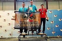 Patnáctiletý Michal Zapletal obsadil v posledním kole české extraligy v Podivíně mezi juniory třetí místo.