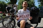 Cestovatel Pavel Novotný vyrazil na svůj druhý Liberta trip, tentokrát jede z Čejkovic na norský Nordkapp.