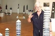 Výstava výtvarníků v Galerii výtvarného umění.
