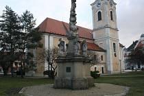 Chrám svatého Vavřince v Hodoníně.