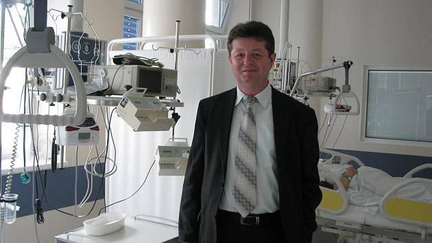 Ředitel hodonínské nemocnice Antonín Tesařík.