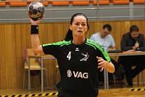 Zkušená slovenská házenkářka Alžběta Tóthová (na snímku) pomohla Hodonínu k výhře ve Zlíně dvanácti góly.