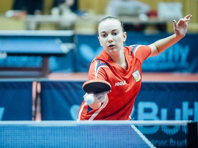 Česká reprezentantka Zdena Blašková (na snímku) je ve dvouhře juniorek nasazená jako dvanáctá.