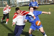 Fotbalisté Ždánic. Ilustrační foto.