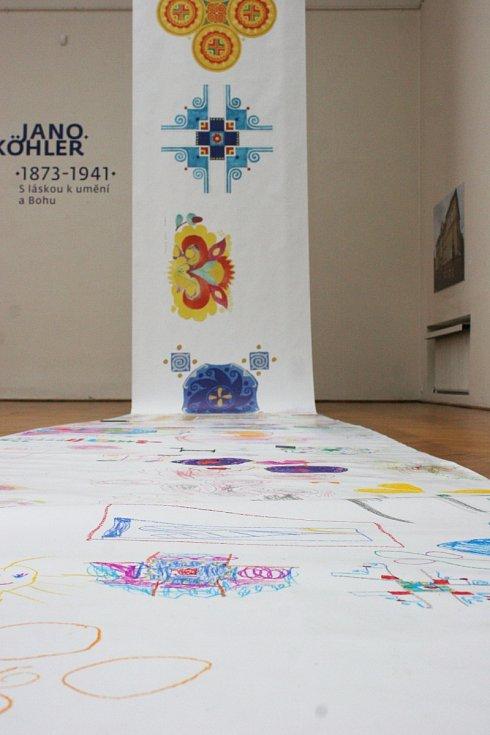 Den otevřených dveří v hodonínské Galerii výtvarného umění.