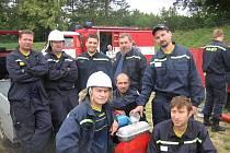 Dobrovolní hasiči z Ostrovánek