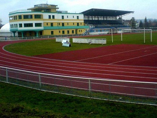 Stadion v Kyjově - ilustrační foto.