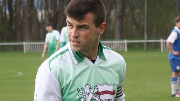 Bzenecký kapitán Petr Kasala (na snímku) se proti Brumovu trefil jednou. Slovan na Zlínsku přesvědčivě vyhrál 3:0.