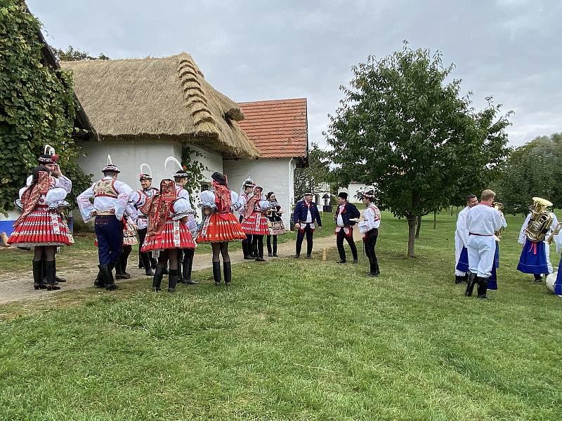 Slovácký soubor Lúčka  ve Strážnici.