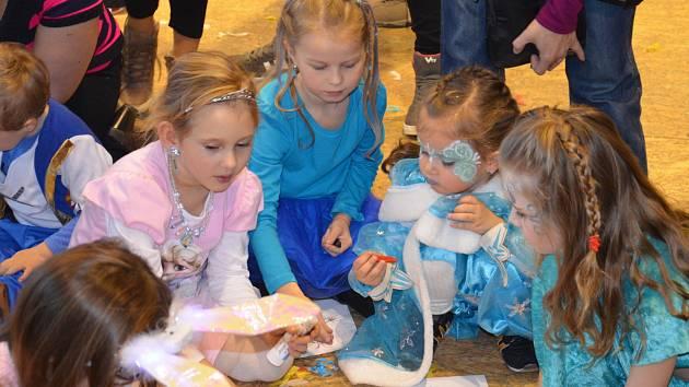 Dětský karneval v Ratíškovicích.