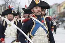 Vojska Tří císařů se sešla v sobotu v Bzenci a bojovala o tamní zámek.