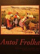 Přebal knihy Antoš Frolka – reprodukované malířské dílo.
