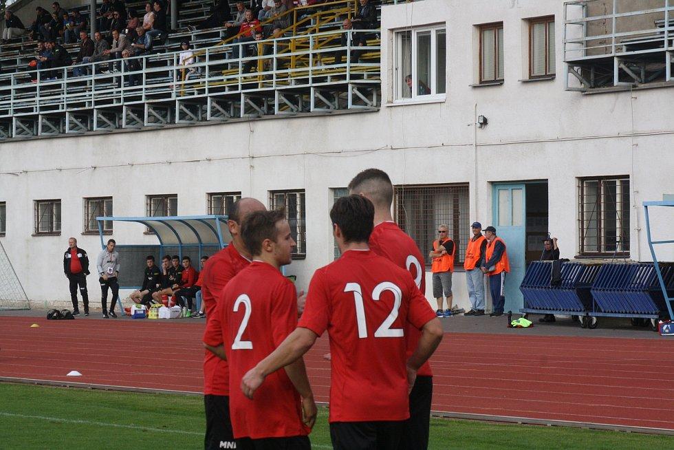 Hodonínští fotbalisté zvítězili nad Otrokovicemi.