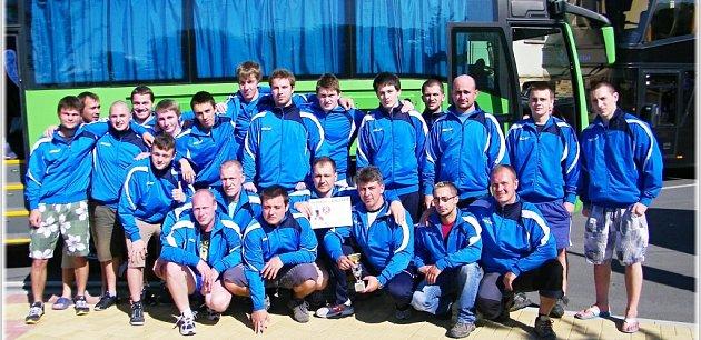 Vcelkovém pořadí Mistrovství České republiky se muži Sokola Hodonín posunuli na třetí příčku.