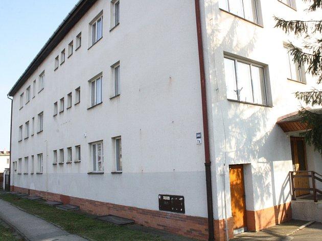 Bývalá budova školy v Žižkově ulici v Hodoníně.
