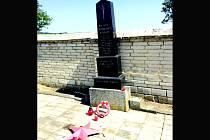 Pomník padlých rumunských vojáků dnes.