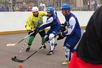 Sudoměřičtí hokejbalisté zvládli oba domácí duely a čtvrtfinálovou sérii s Mostem srovnali na 2:2.