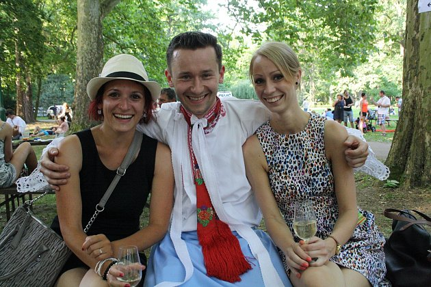 Mezinárodní folklorní festival ve Strážnici.