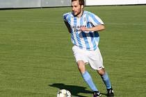 Fotbalista Petr Vacula patří v letošním soutěžním ročníku ke klíčovým hráčům Šardic.