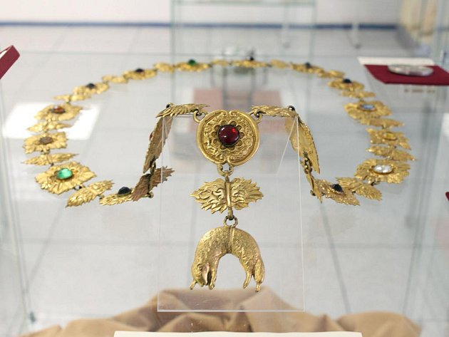 V Hodoníně jsou k vidění dva exponáty Řádu Zlatého rouna.