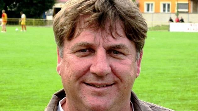 Předseda okresního fotbalového svazu Hodonín Petr Kotásek.