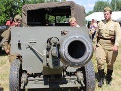 Vlkošské dny vojenských tradic - Osvobození Moravy.